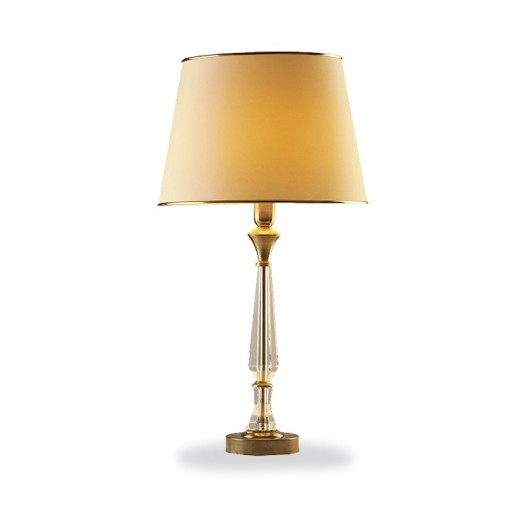 Crystal Clear Table Lamp