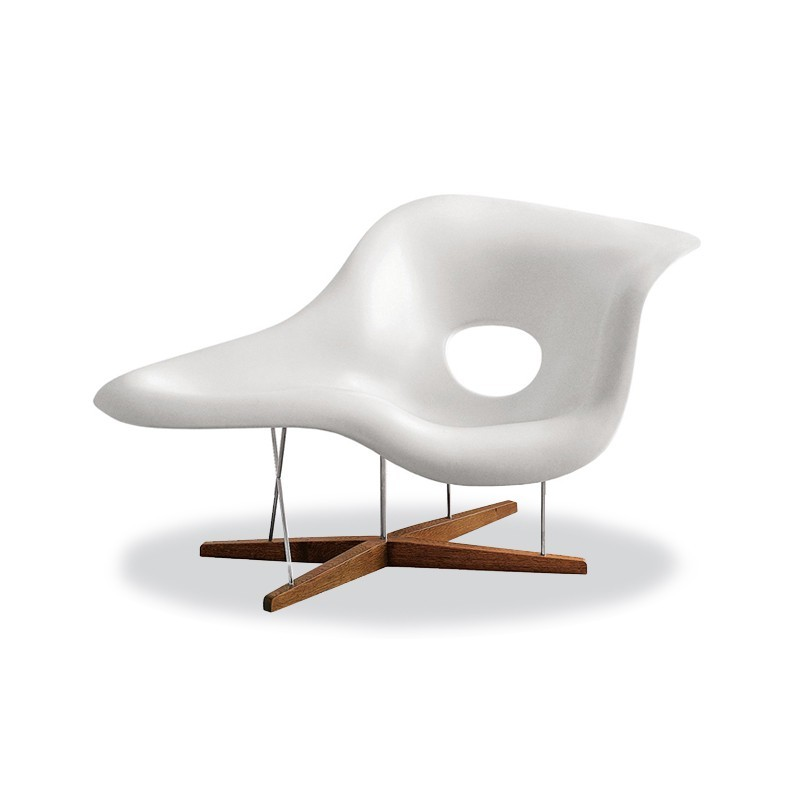Eames la chaise lounge chair kolektion for La chaise eames occasion