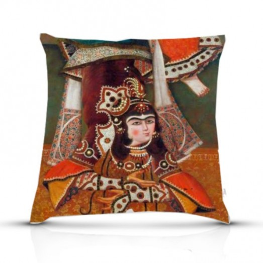 Ghaajar women dancing cushion