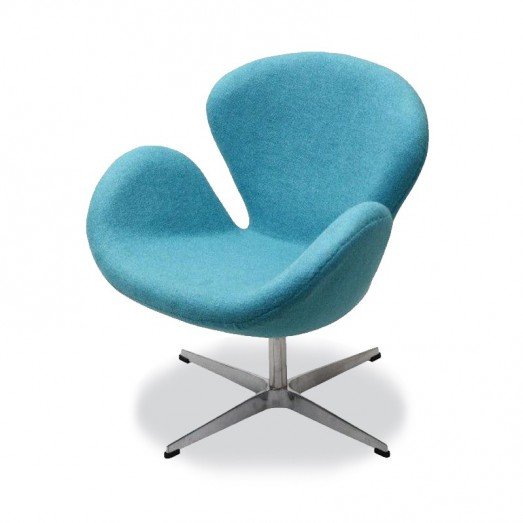 Swan Lounge Chair - Cashmere