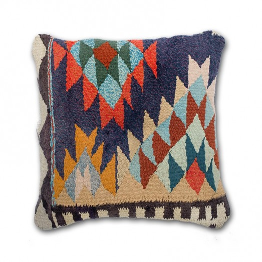 Cushion with tile design