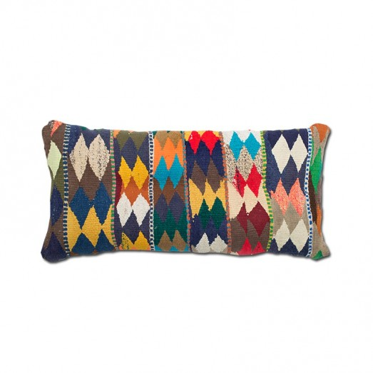 Cushion with rug design