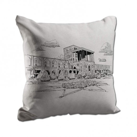 Alighapoo mosque cushion