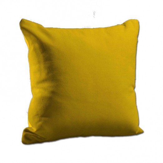 Plain Yellow cushion
