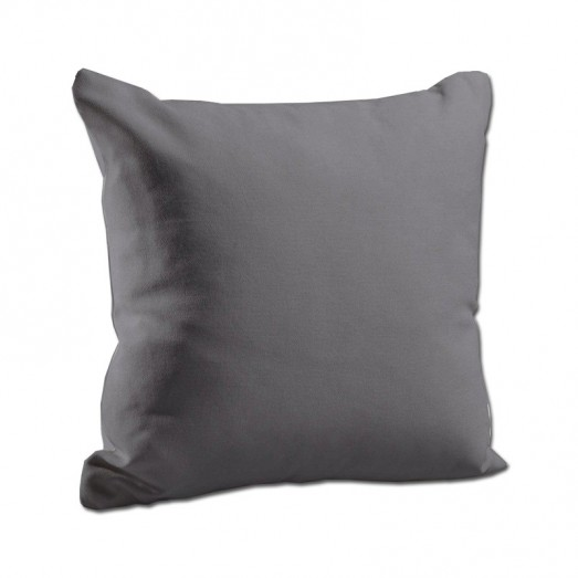Plain gray cushion