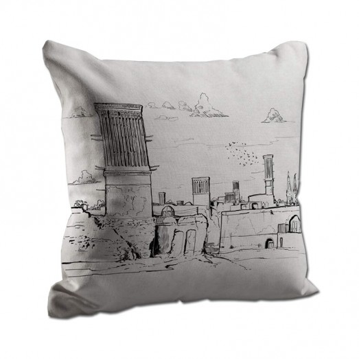 Yazd windcatcher cushion