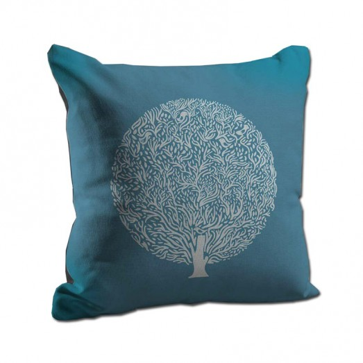 White tree cushion
