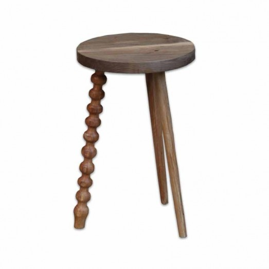 Wooden stool - side table