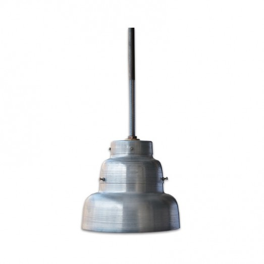 Galvanized metal ceiling Lamp