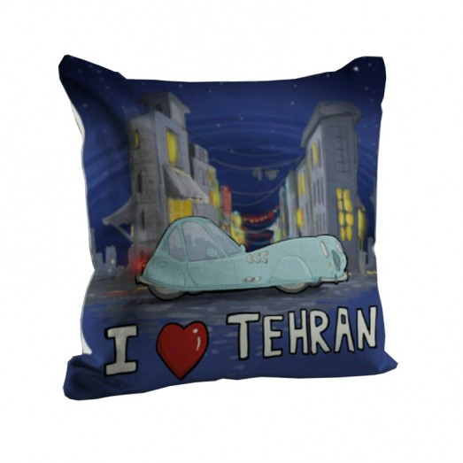 I love Tehran cushion