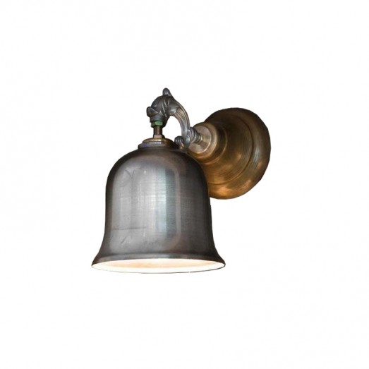 Metal and Alloy and Brass Wall lamp