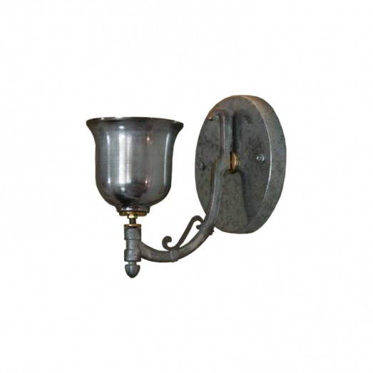 Galvanized Metal and Aluminium Wall lamp